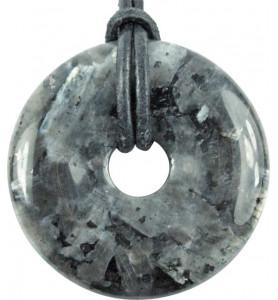Donut Larvikite 30mm