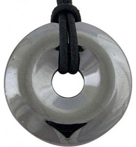 Donut Hématite 30mm