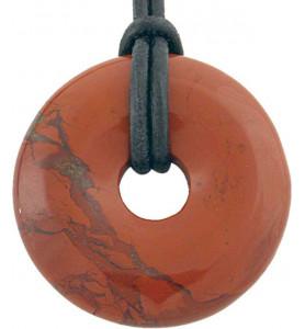 Donut Jaspe Rouge 30mm