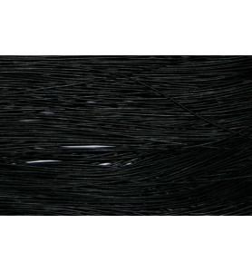 Bande cuir noir 1m