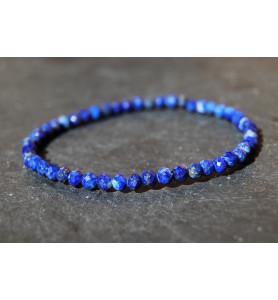 Bracelet Facettes Lapis-Lazuli