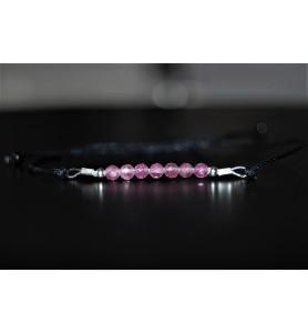 Bracelet Tourmaline Rose et...