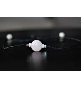 Bracelet Quartz Rose Mat et...