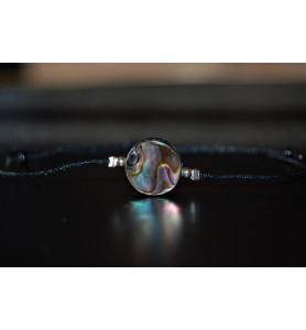 Bracelet Coquille Paua et...